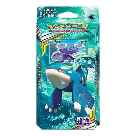 Deck Pokémon Profundezas Ocultas Kyogre- Copag