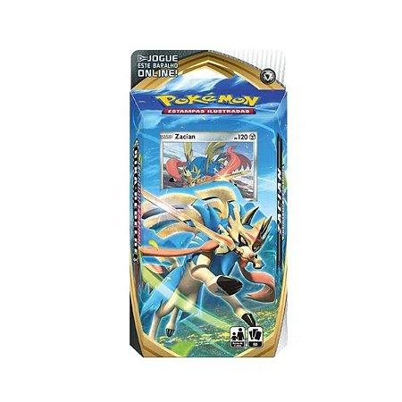 Deck Pokémon Zacian Espada E Escudo- Copag