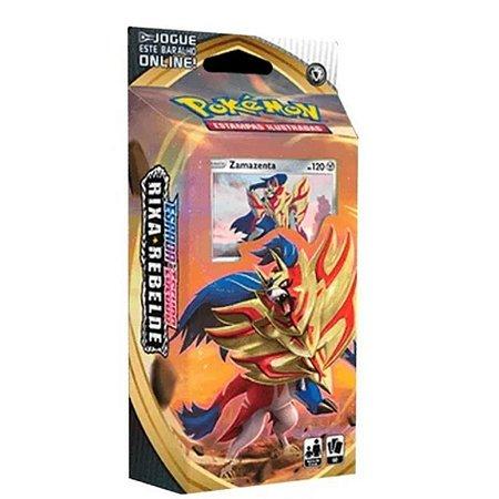 Pokemon Deck Rixa Rebelde Zamazenta- Copag
