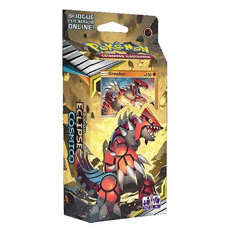 Deck Pokémon Altitude Exorbitante Groudon - Copag