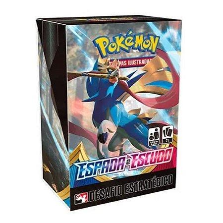 Kit Desafio Estratégico Pokémon Tcg Swsh1 Espada E Escudo- Copag