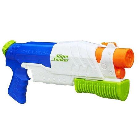 Brinquedo Lança Água Nerf Super Soaker Scatter - Hasbro