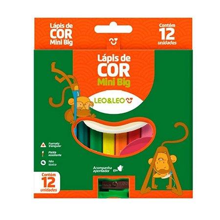 Lápis de Cor 12 Cores - Leo&Leo