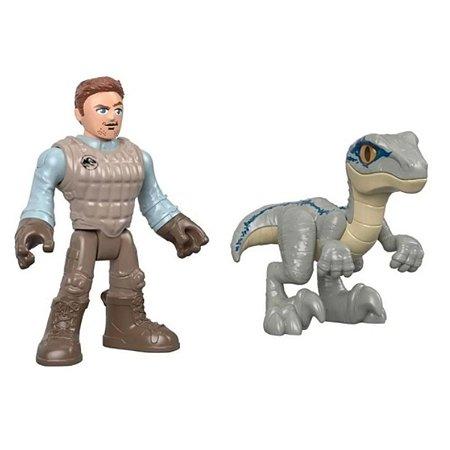Imaginext - Jurassic World Owen E Blue - Mattel GBN18