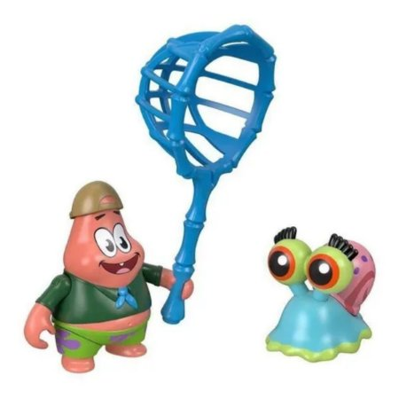 Boneco Patrick E Gary - Imaginext - Mattel - Brinquedos