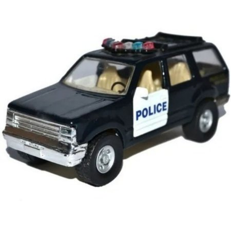 Miniatura Metal Ford Police Polícia Maisto Free Wheels