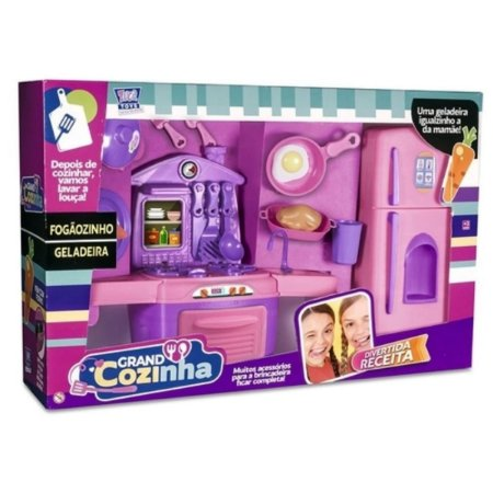 Cozinha infantil completa Chef Kids - Zuca Toys