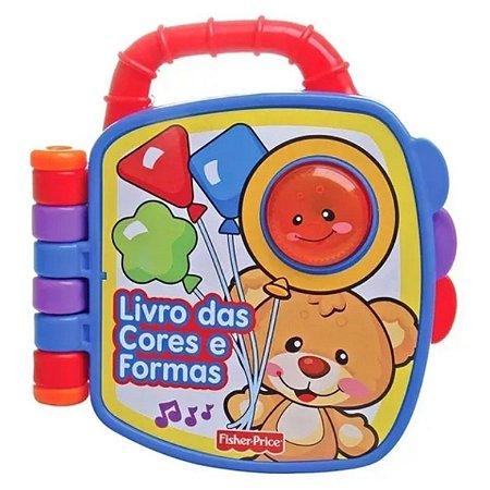 Fisher Price Livro Cores E Formas Aprender E Brincar- Mattel