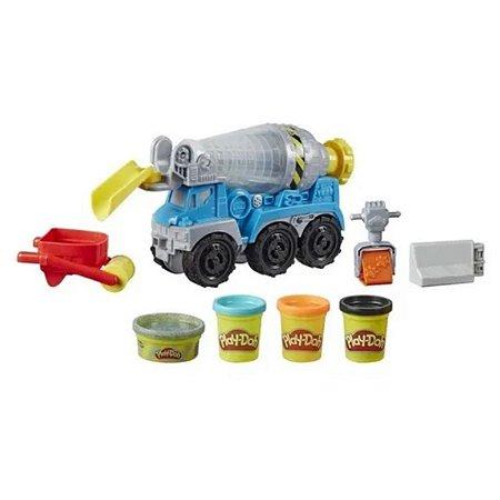Play Doh - Wheels Caminhão De Cimento - Hasbro