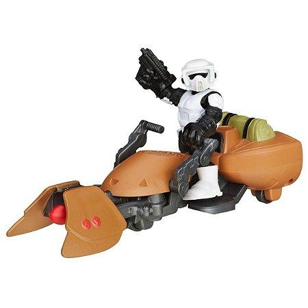 Boneco Star Wars Scout Trooper E Sppeder Bike - Hasbro