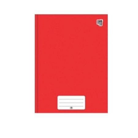 Kit C/3 Caderno Brochura Universitário 96 Folhas Vermelho - 3B