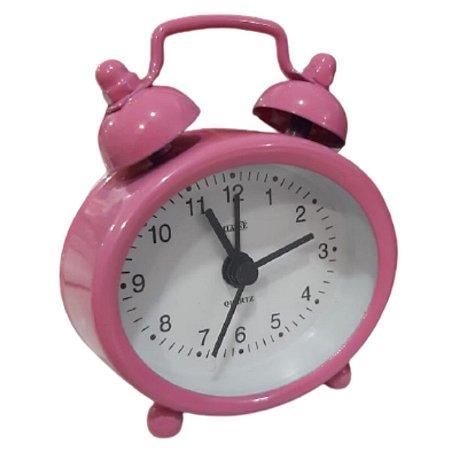 Relógio De Mesa Despertador Cores Sortidas - Classe