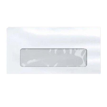 Envelope Comercial Com Janela C/ 50 Tamanho 22,5x11cm