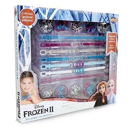 Kit Monte Sua Pulseira Frozen 2 - Toyng