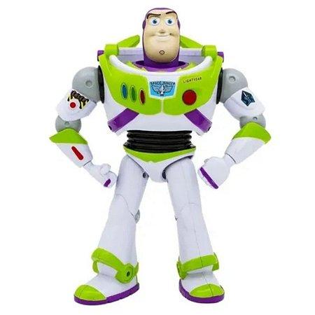 Boneco Buzz Lightyear Fala 10 Frases - Toy Story 4