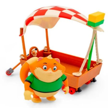 Veículo com Figura 44 Gatos O Barco Do Almôndega - Toyng