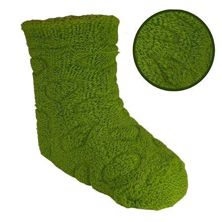 Kit Com 4 Meia Infantil Verde 5-8 anos- Classe