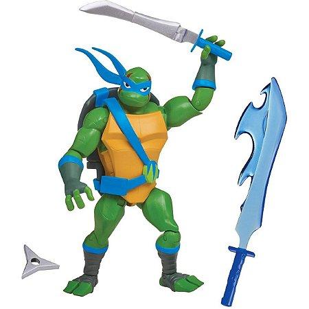 Figuras de Ação - Tartarugas Ninjas - Leonardo Porta Armas - Sunny