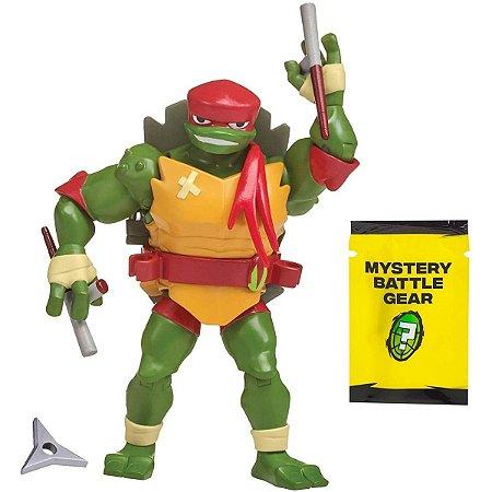 Figuras de Ação - Tartarugas Ninjas - Raphael Porta Armas - Sunny