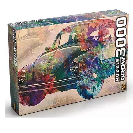 Quebra Cabeça Fusca Vintage- Grow 03462