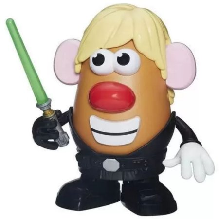 Boneco Mr. Potato Head - Star Wars - Luke Frywalker - Hasbro