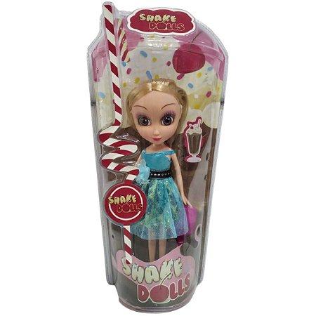 Boneca Azul Loira Shake Doll - Zoop Toys