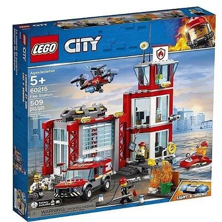 LEGO City - Quartel General dos Bombeiros - 60215