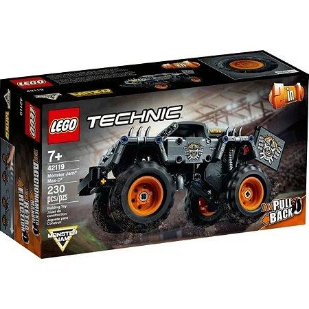 Lego Technic 2 Em 1 Monster Jam Max-d 230 Peças 42119