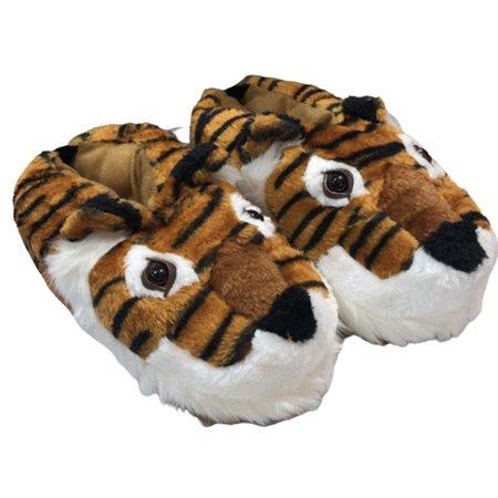 Pantufa de tigre com solado emborrachado Stuf 35 ao 42