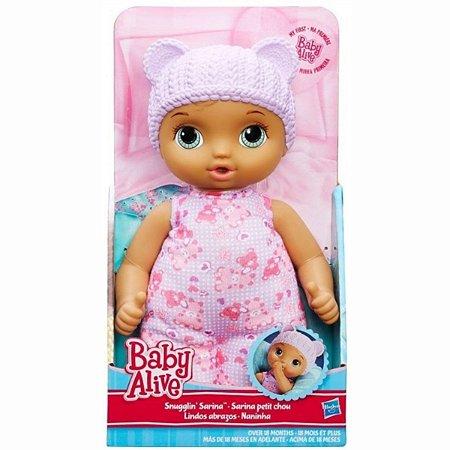 Baby Alive Naninha Morena - Hasbro
