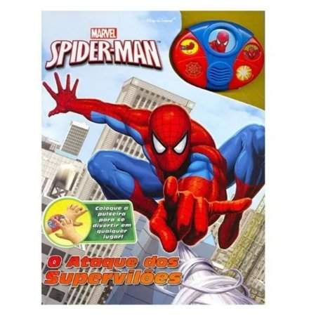 Livro - Spider Man O Ataque Dos Superviloes