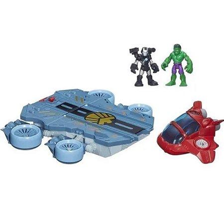 Brinquedo Playskool Heroes Super Hero Helitransporte- Hasbro