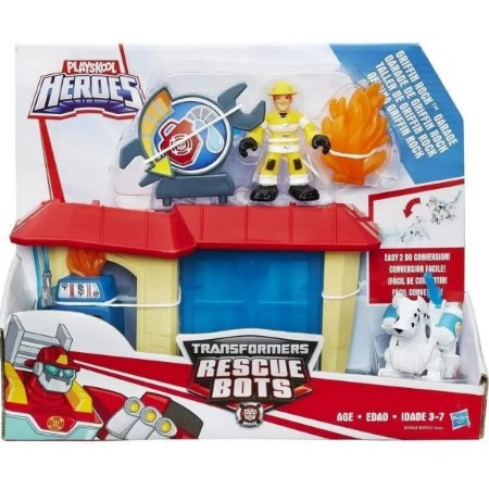 Playskool - Transformers Oficina Griffin Rock - Hasbro B4964