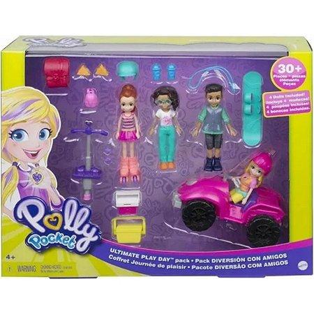 Polly Pocket Pacote De Diversão Com Amigos- Mattel