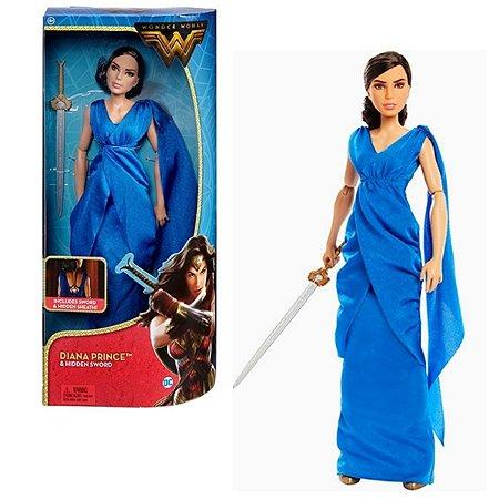 Mulher Maravilha Princesa Diana C/ Espada - Mattel Fdf34