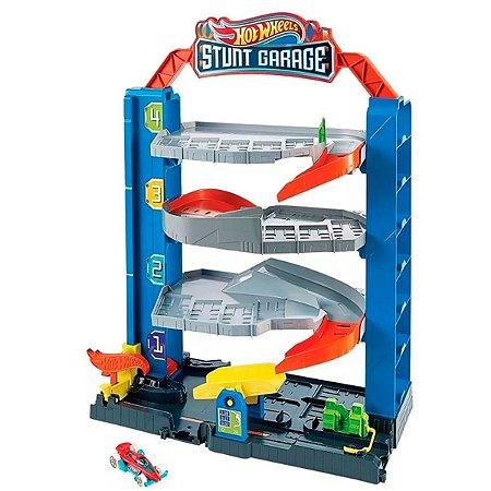 Pista Hot Wheels City - Garagem De Manobras - Mattel