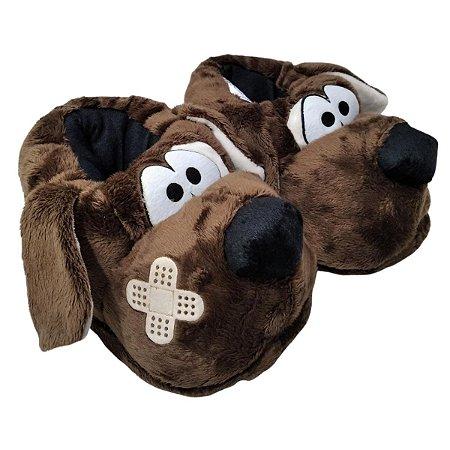 Pantufa Cão Dodói 28 Ao 42- Ferpa