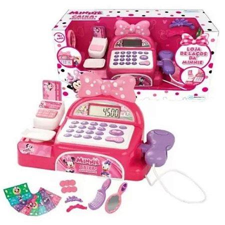 Caixa Registradora Minnie Loja De Laços- Multi Kids