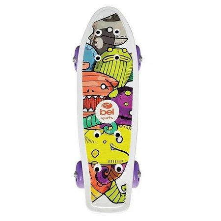 Mini Skateboard Espacial Infanti - Bel Sports