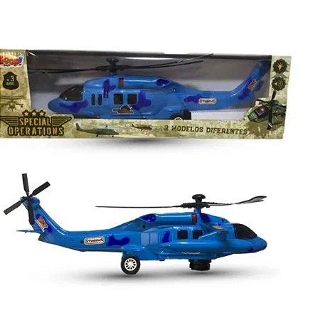 Helicóptero Special Operations com Som e luz