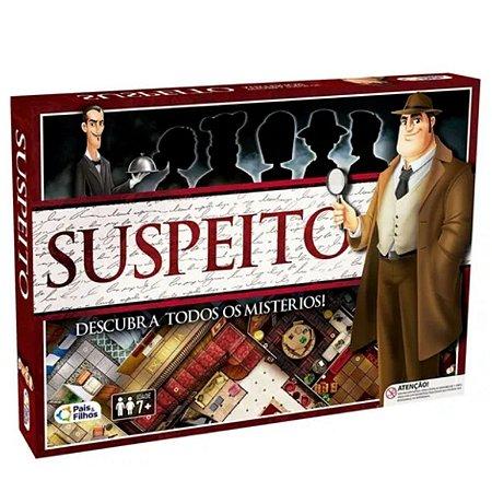 Jogo Suspeito - Detetive- Pais & Filhos 2866