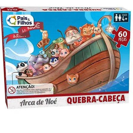 Quebra Cabeça Arca De Noe 60pc - Pais E Filhos