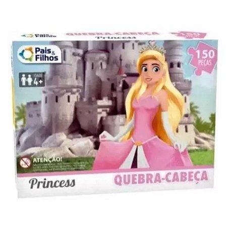 Quebra cabeça princess 150 peças - Pais & Filhos