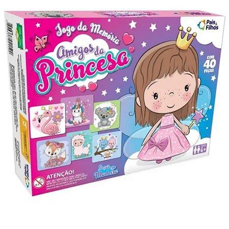 Jogo Da Memória Amigos Da Princesas - Pais & Filhos