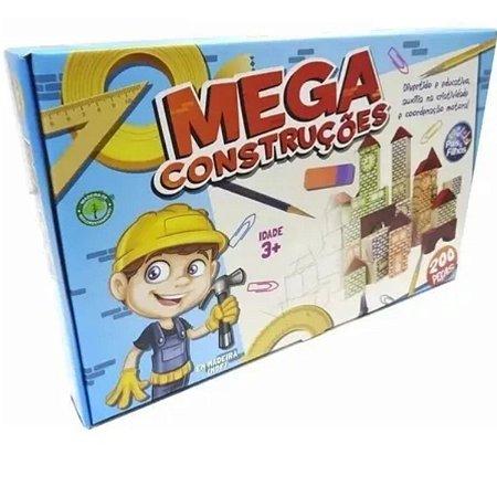 Mega Contruções 200pçs - Pais e Filhos