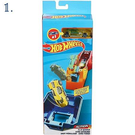 Hot Wheels Pista - Giro Feroz - Torre Elétrica - Solta Fogo - Rei do Loping - Mattel