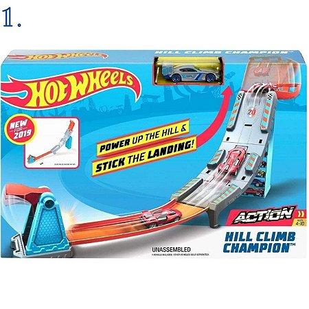 Hot Wheels Pista - Campeonato Para O Topo - Campeonato De Looping - Mattel