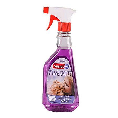 Eliminador De Odores Sanol Gato 500 ml
