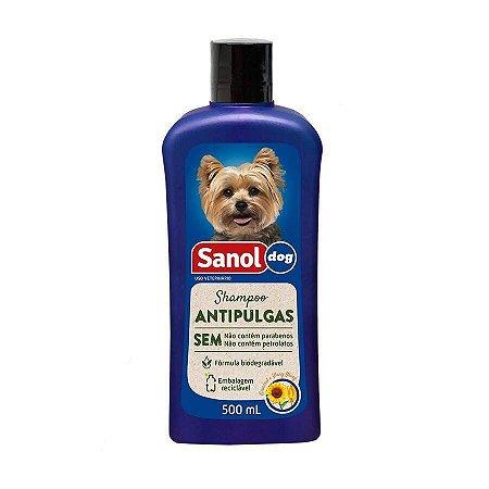 Shampoo Antipulgas Sanol Dog 500 ml