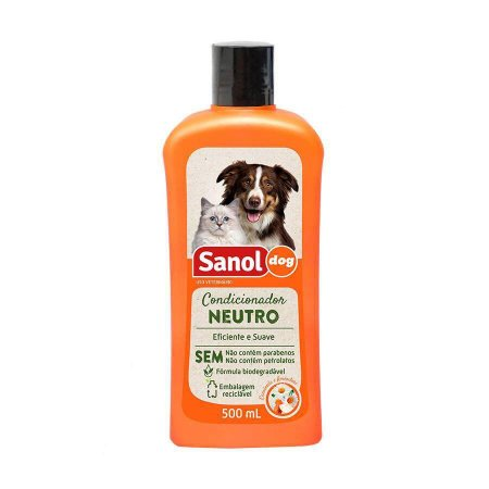 Condicionador De Pelos Neutro Sanol Dog 500 ml